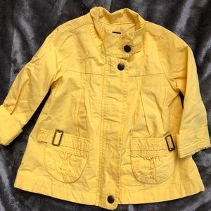 NEW Gap Girls Yellow Raincoat 3T